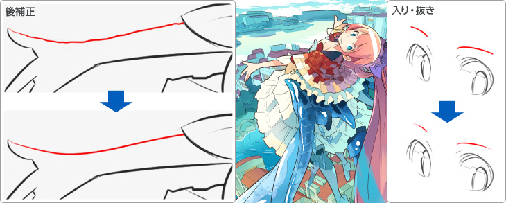 初めてでも美しく、なめらかな線が描ける!