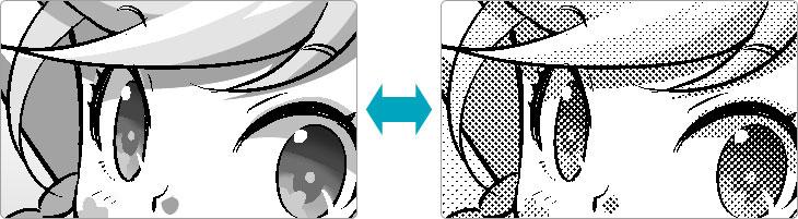 印刷用にも電子書籍用にも、それぞれ最適な表現が可能!