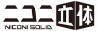 ニコニ立体 ロゴ