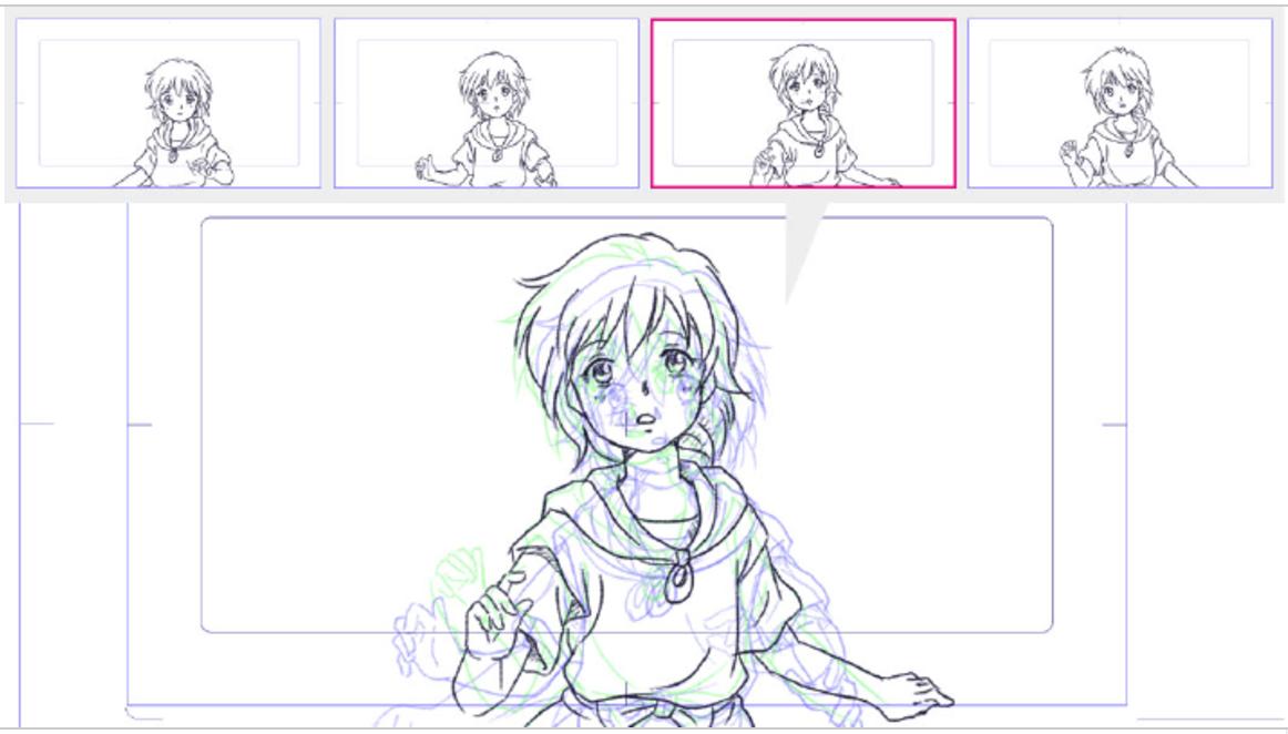 うごくイラストやアニメの制作ができるようになりました
