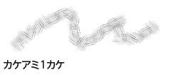 初期収録の「カケアミ1カケ」